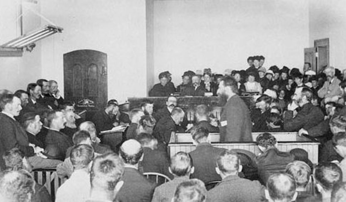Louis riel at trial
