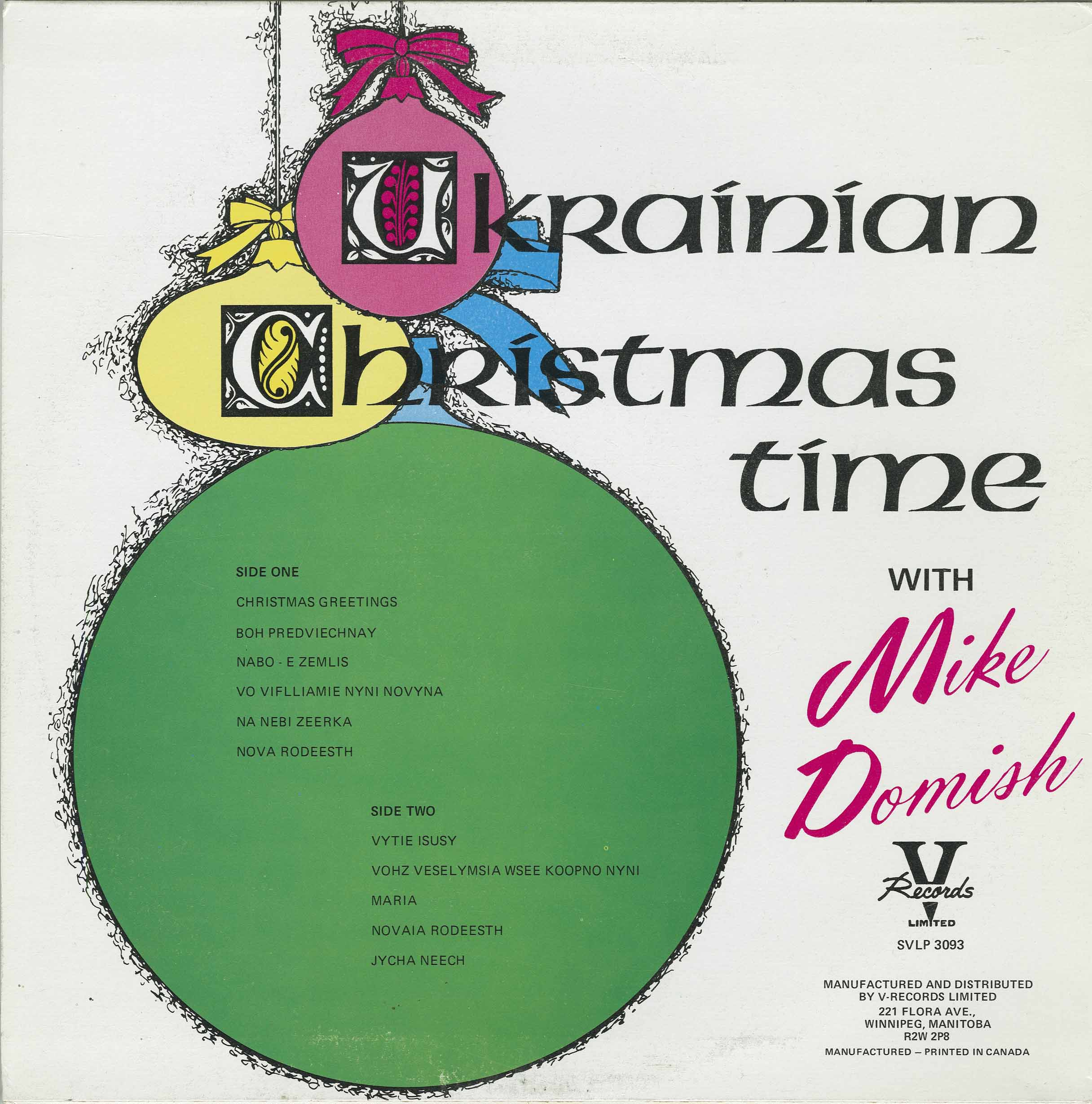 Domish mike ukrainian christmas time mike domish ukrainian christmas time m4hsunfo