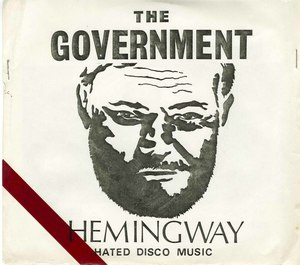 45 government hemingway hated disco music pic sleeve