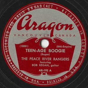 78 peace river rangers teenage boogie %28aragon ar 192a%29