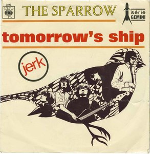 45 sparrow tomorrows ship pic sleeve france front
