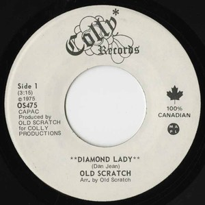 45  old scratch diamond lady
