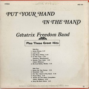 Greatrix freedom band put your hand in the hand back reduced