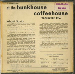 David wiffen live at the bunkhouse back150