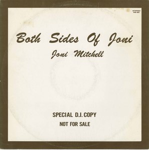 Joni mitchell both sides of joni dj copy japan