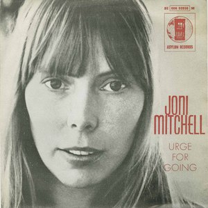 45 joni mitchell urge for going pic sleeve portugal