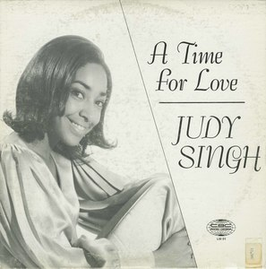 Judy singh a time for love front
