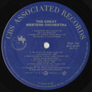 Great western orchestra st vinyl 01