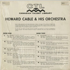 Howard cable and orchestra ctl 5010 %281962%29 back