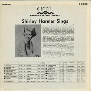 Shirley harmer ctl 5052 back