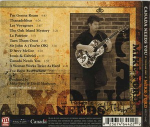 Cd mike ford canada needs you vol 1 back