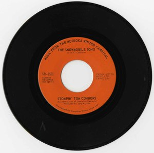 45 howard cable music from the muskoka winter carnival stompin tom the snowmobile song