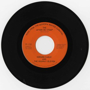 45 howard cable music from the muskoka winter carnival the after ski stomp