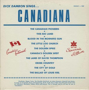 Dick damron canadiana front