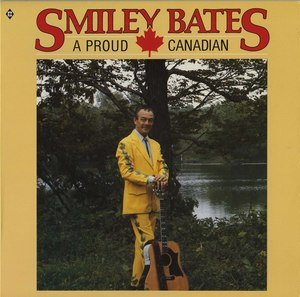 Smiley bates a proud canadian front