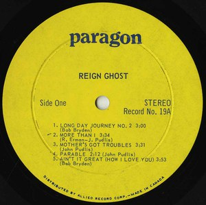 Reign ghost feat lynda squire vinyl side 01