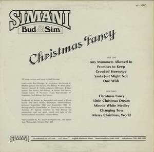 Simani christmas fancy back