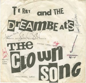 45 terry and the dreambeats the clown song pic sleeve