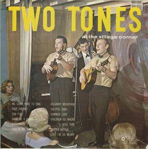 Two tones at the village corner on canatal