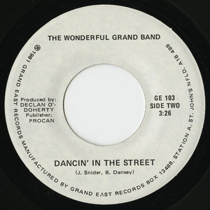 45 wonderful grand band dancin in the street