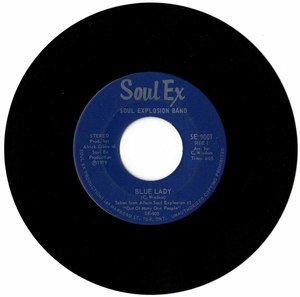 45 soul explosion band blue lady