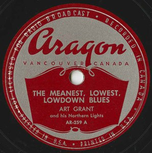 78 art grant the meanest lowest lowdown blues %28aragon ar 259a%29