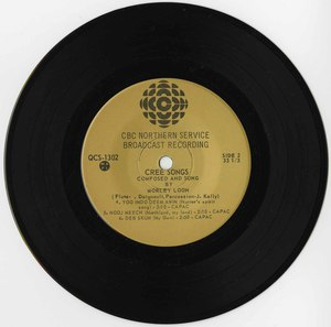 45 morley loon cree songs cbc northern qcs 1302 side 2