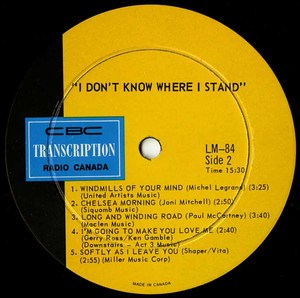 Stephanie taylor   i don't know where i stand label 02