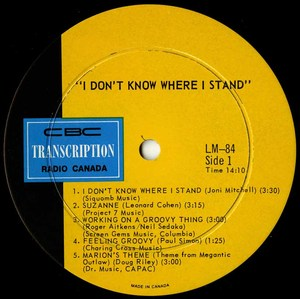 Stephanie taylor   i don't know where i stand label 01