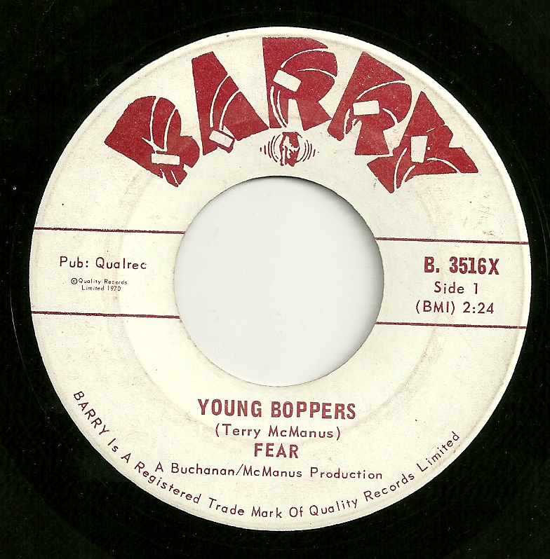 Fear - Young Boppers
