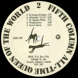 Fifth column all time queen of the world label 02