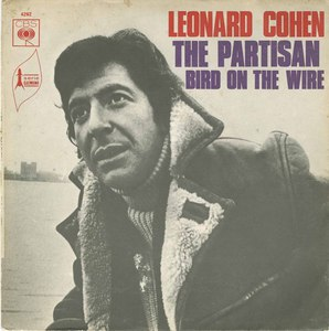 45 leonard cohen the partisan bird on the wire pic sleeve