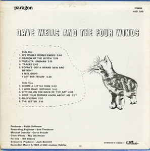 Dave wells and the four winds st back
