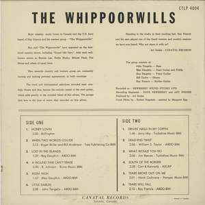 The whippoorwills   st back