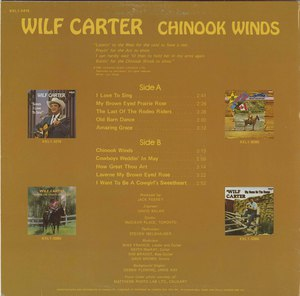 Wilf carter   chinook winds back