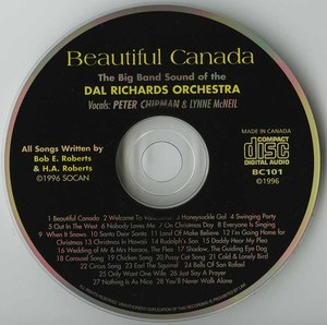 Cd dal richards beautiful canada cd