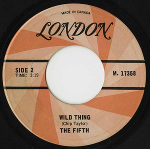 45  fifth wild thing label