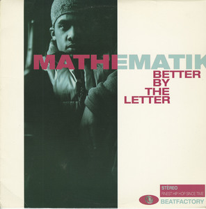 Mathematik better by the letter front