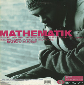 Mathematik better by the letter back