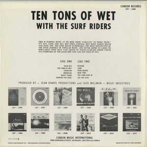 Surf riders   ten tons of wet back