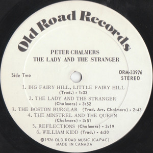 The lady and the stranger vinyl 01