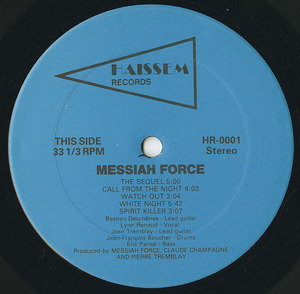 Messiah force the last day label 01