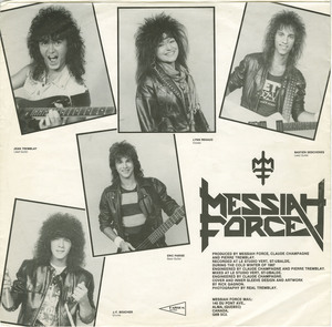 Messiah force the last day insert side 01