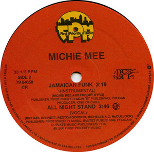 Michie mee   jamaican funk label 02