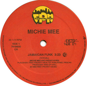 Michie mee   jamaican funk label 01