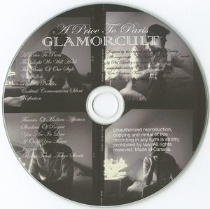 Cd glamor cult a price to paris cd