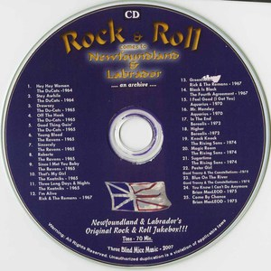 Cd va rock   roll comes to newfoundland cd