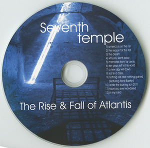 Cd 7th temple the rise and fall of atlantis cd