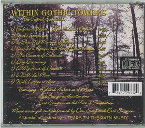 Cd within gothic towers jewel