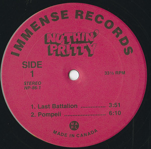 Nuthin pretty insert label 01